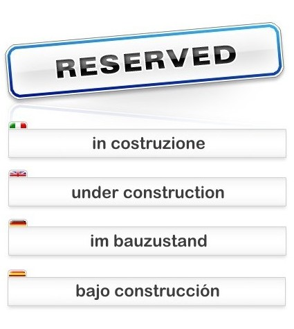 Reserved. Under Construction